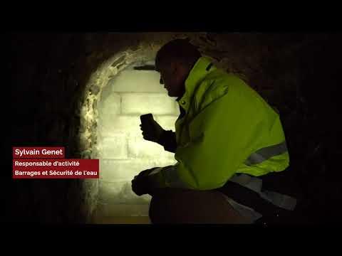 Étang de Péronne : travaux sur la digue