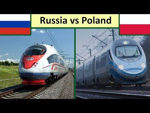 Russia Vs Poland | Rail Comparison (2019)