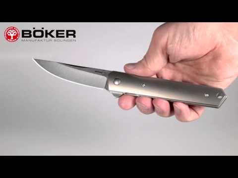 Böker Plus 01BO289 Kwaiken Mini Flipper video_1