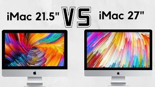 """21.5"""" iMac vs. 27"""" iMac"""