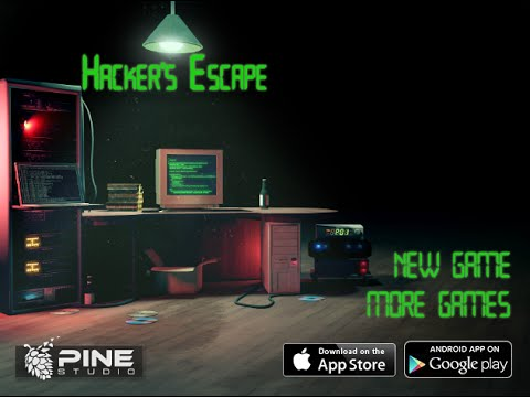 Hacker's Escape. Walkthrough / Хакерский побег. Прохождение