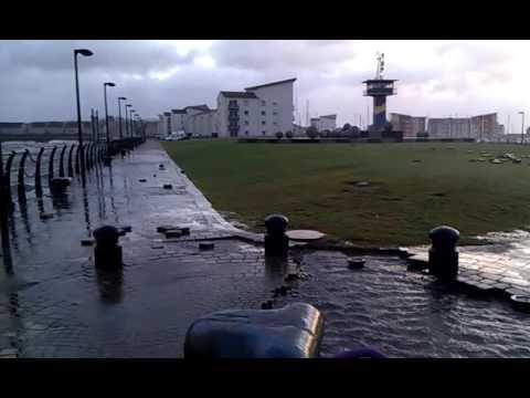 Ardrossan Harbour Storm