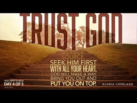 Seek God First with Gloria Copeland and George Pearsons (Air Date 3-10-16)