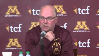 Jerry Kill Retirement - Opening Statement