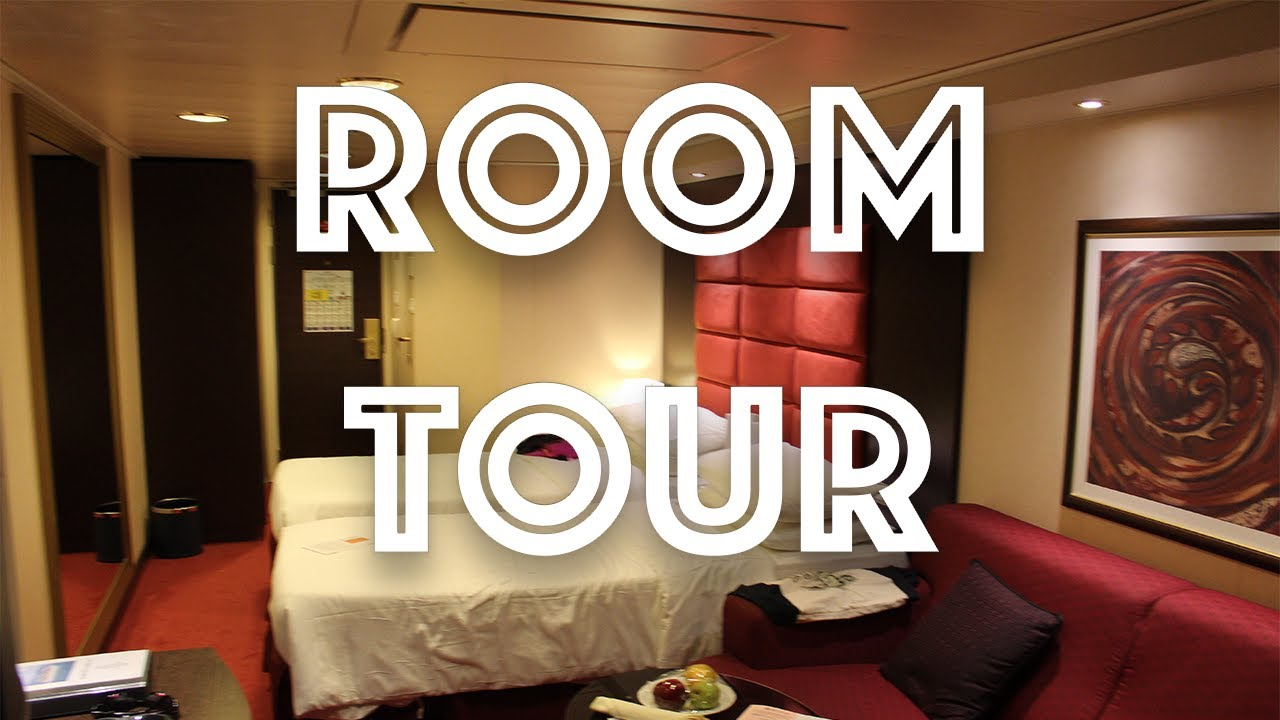 MSC DIVINA BALCONY ROOM TOUR 2017 - YouTube