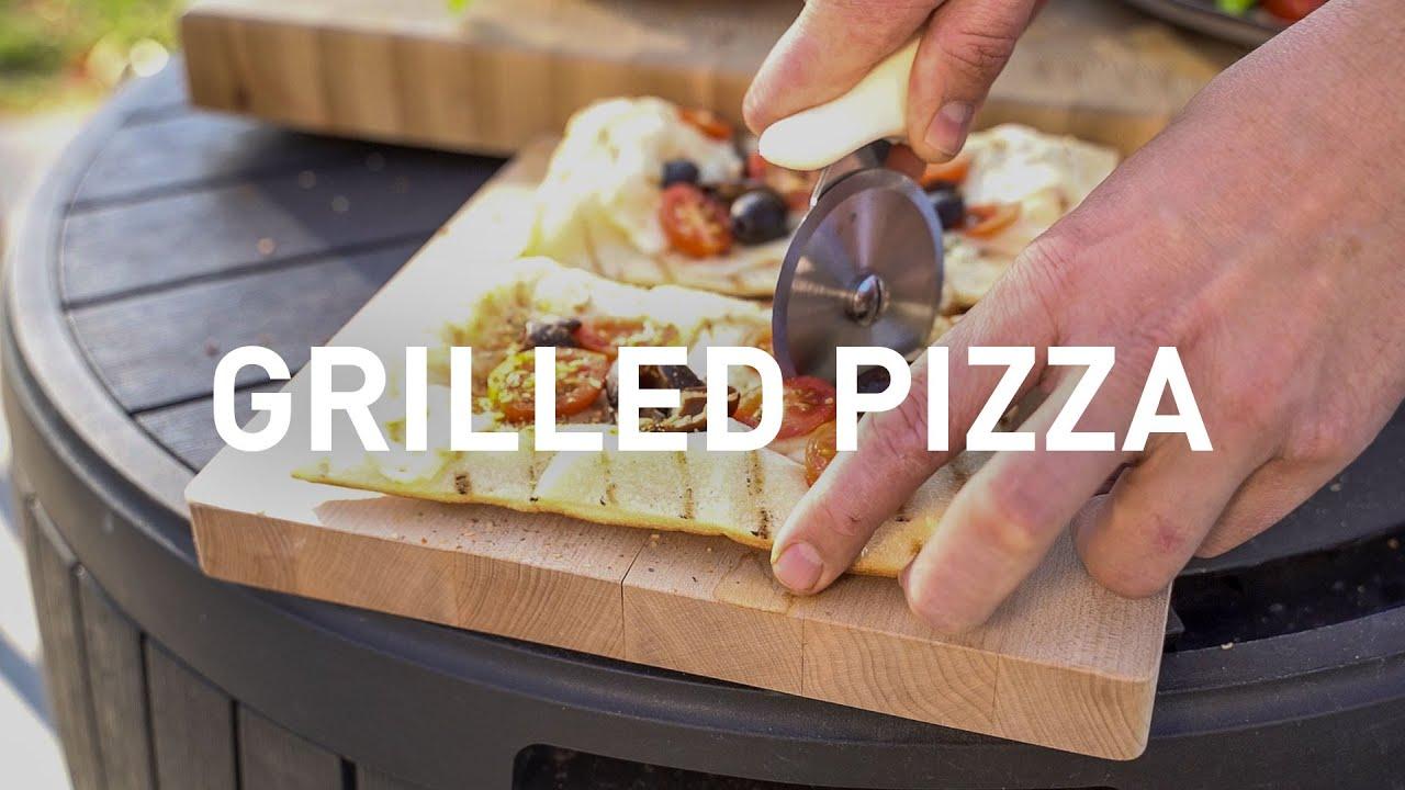 CHEF AF Grilled Pizza