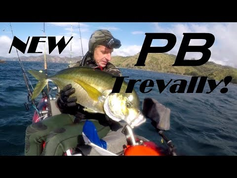 The day of the Trevally and testing my new Old town Predator Pdl live bait tank...