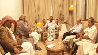وزير الدفاع يجتمع مع الاحزاب والتنظيمات السياسية بمارب