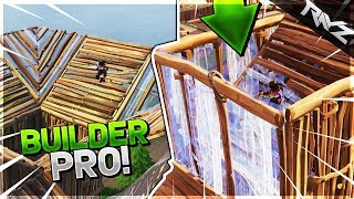 NEW SECRET TO BUILDING SUPER FAST & EASY! BUILDER PRO EXPLAINED & TUTORIAL - Fortnite: Battle Royale