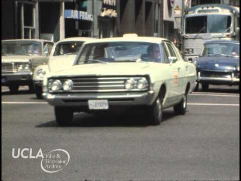 "KTLA News: ""Gas stations and heavy traffic in Los Angeles"" (1973)"