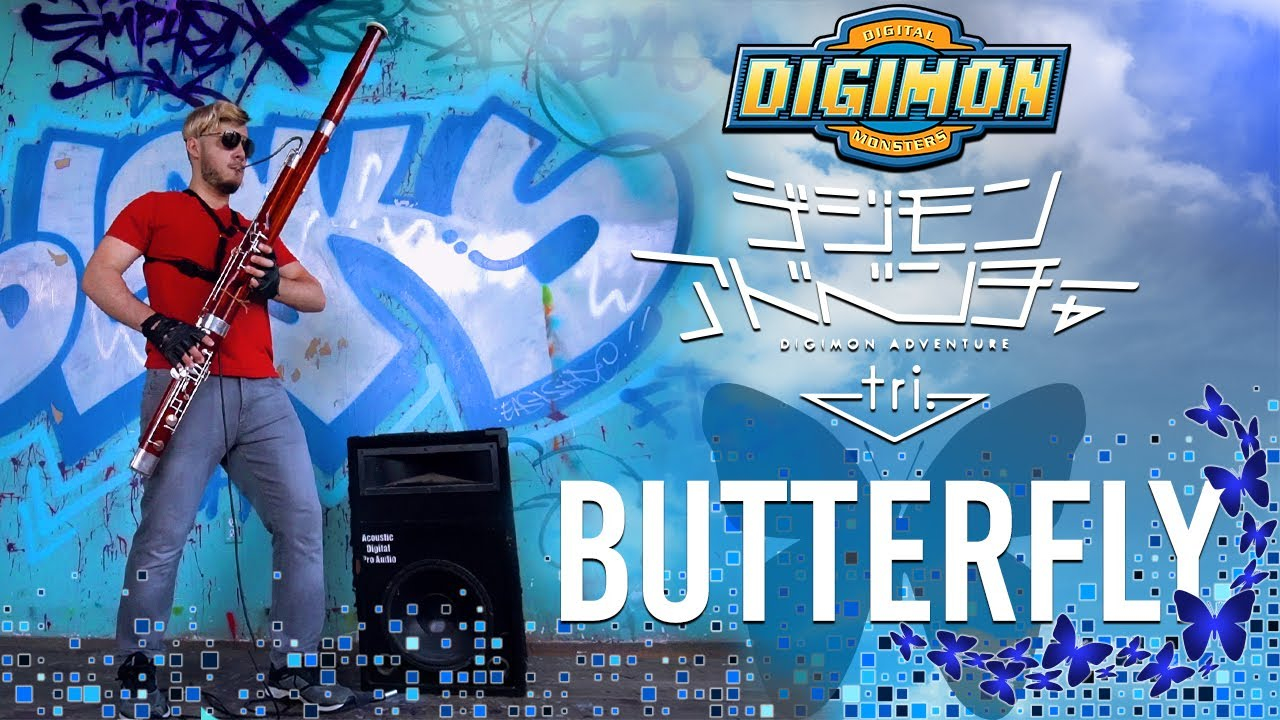 Butter-Fly (Bassoon Cover) Digimon OP - Bassoonify