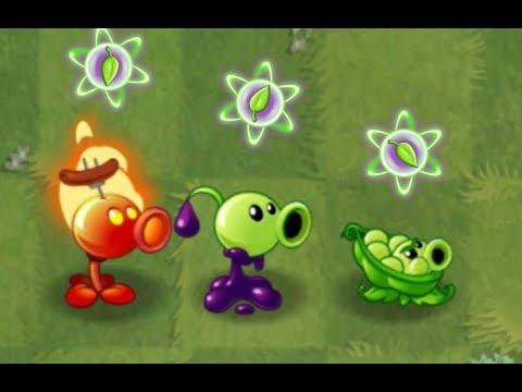 Plants vs Zombies 2 TOP 6 Peashooter Power Up VS! Zombies - PVZ Gamepay
