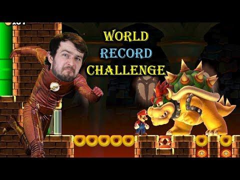 World Record Challenge - Super Mario Maker - Attempt 3