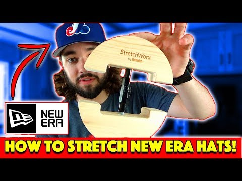 How to STRETCH a New Era 59Fifty Hat! | Or ANY Fitted Hat