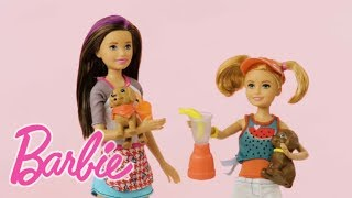 Unboxing Barbie® Sisters Skipper™ and Stacie™ Doll Sets and Serving Up Fun | Barbie®
