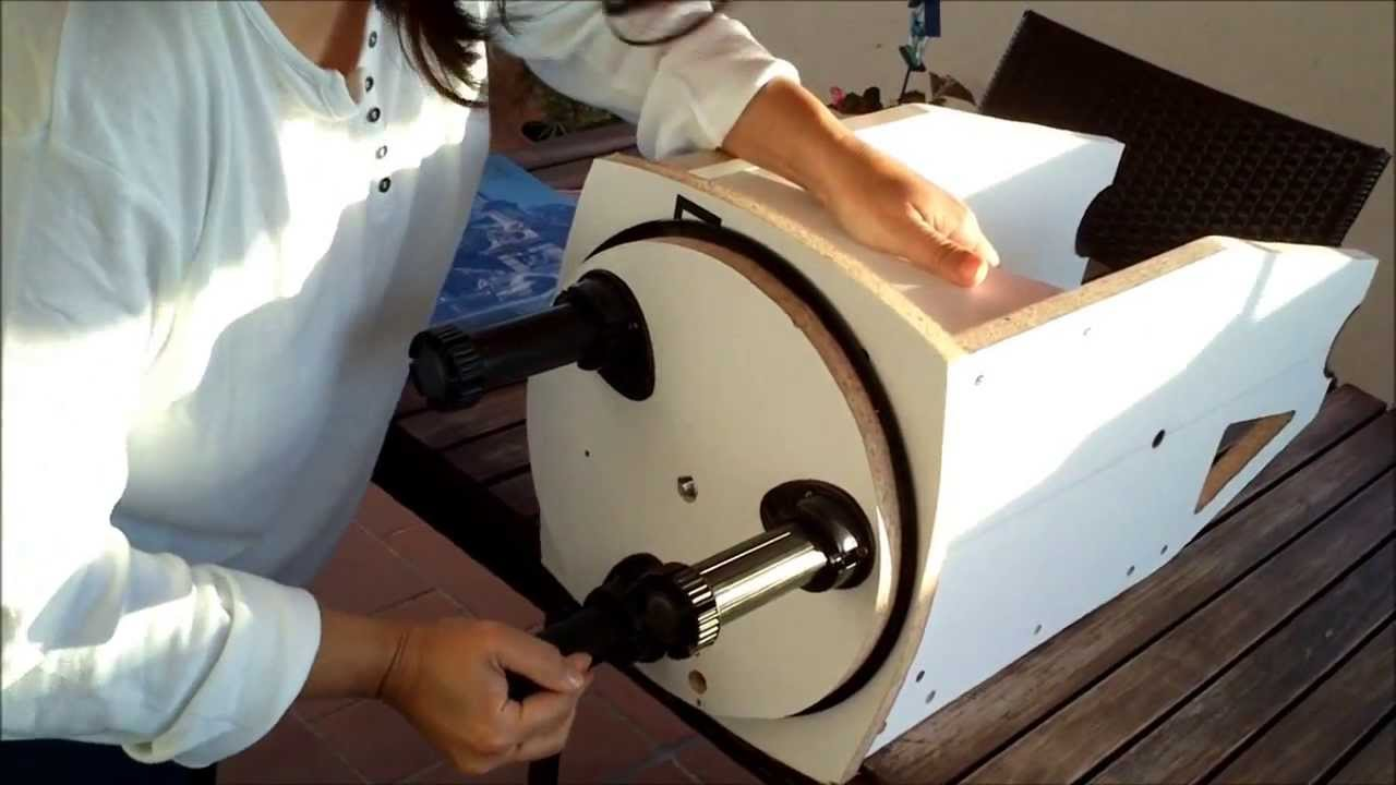 dobsonian telescope for kids diy youtube