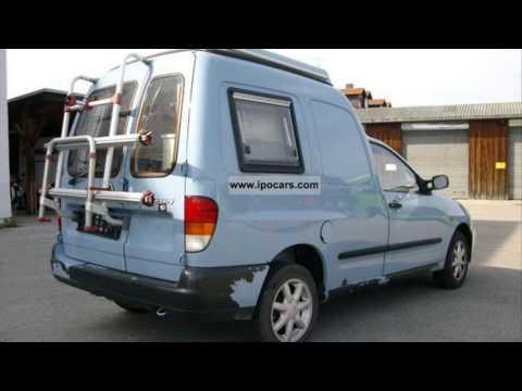 volkswagen caddy camper youtube. Black Bedroom Furniture Sets. Home Design Ideas