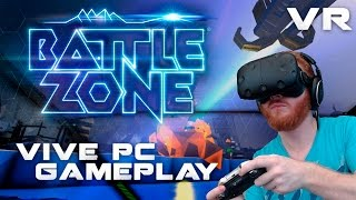 Battlezone gameplay on HTC Vive - VR tank combat now available for PC