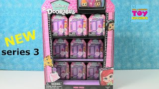 Disney Doorables Series 3 Figure Unboxing Toy Review   PSToyReviews