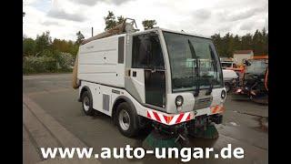 Youtube-Video Bucher CityCat CC5000 Euro V mit Saugschlauch 4-Rad-Lenkung