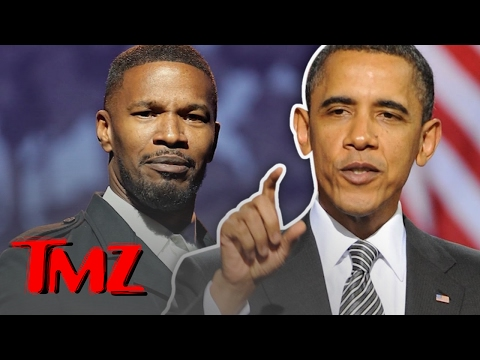 For $10k You Can Party With President Obama and Jamie Foxx!   TMZ