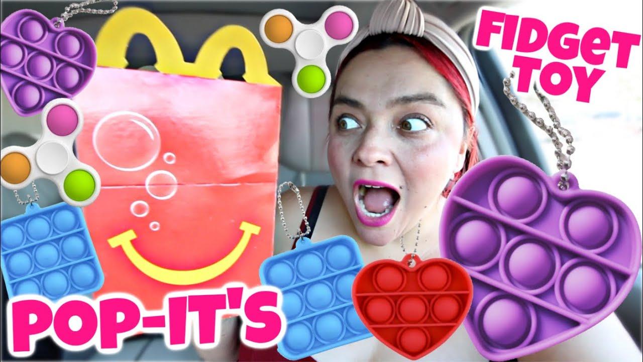 FINALLY! Pop-It Fidget Toys in McDonald's Happy Meal