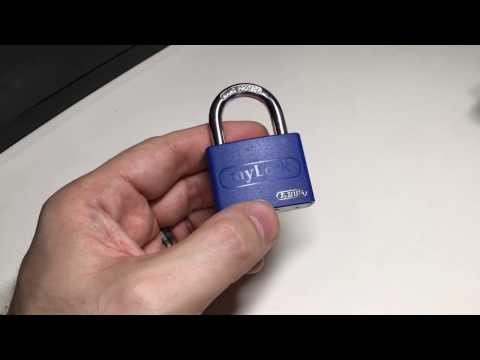 Взлом отмычками ABUS  T65AL/40   (156) ABUS my Lock T65AL/40 Picked (Enjoy!Remember: only pick locks that are yours and that are not in use!Contact me at: Locknoobcontact@gm