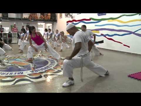 Asociación Argentina de Capoeira en el Programa Cuerpo y Armonia