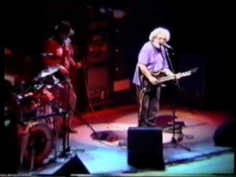 """Jerry Garcia Band """"Wonderful World"""" 11-18-93 Richmond,VA"""