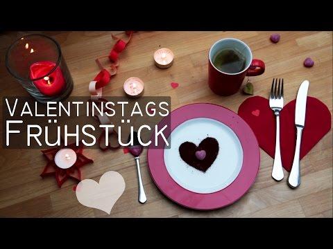 DIY Valentinstags Deko - Teelichter, Teebeutel, Herzen, Servierten