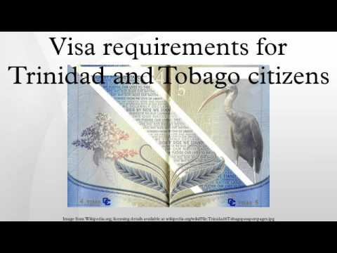Visa requirements for Trinidad and Tobago citizens