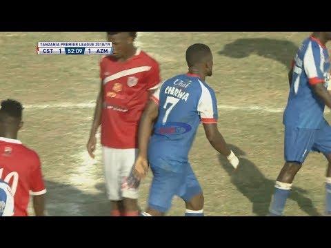 MAGOLI: COASTAL UNION 1-1 AZAM FC (TPL - 19/02/2019)