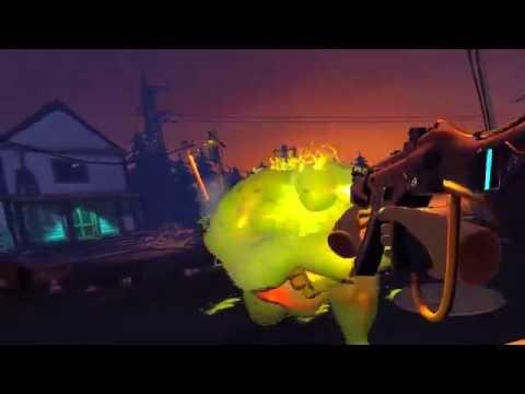 ZR: Zombie Riot - Gameplay Trailer [VR, Oculus Rift]