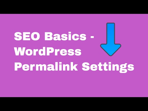 WordPress Permalink Settings - What is  permalink