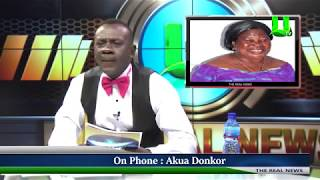 Akrobeto interviews Akua Donkor on REAL NEWS