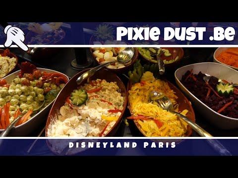 🍽 Buffet at Disney's Sequoia Lodge in Disneyland Paris