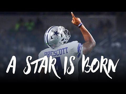 "Dak Prescott Rookie Season Mini-Movie: ""A Star Is Born"" (Dallas Cowboys 2016-17 Highlights) ᴴᴰ"