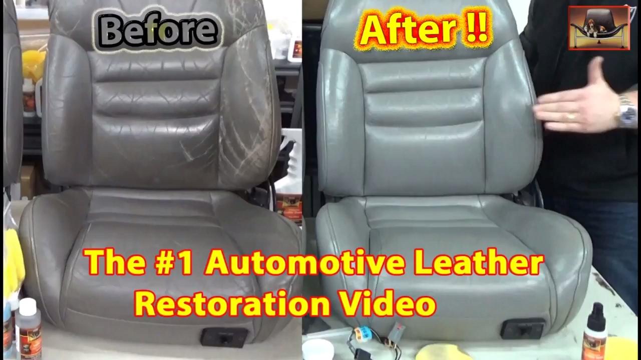 Automotive Leather Restoration Video
