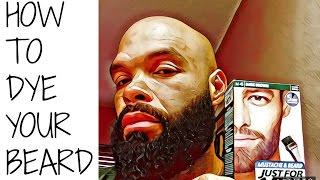 How To Dye Your Beard
