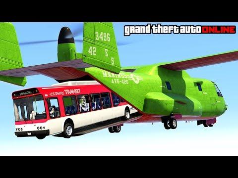 GTA 5: Online - Epic Stunts, Funny...