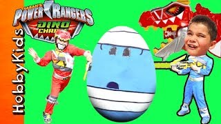 POWER RANGERS Surprise Toys Compilation with HobbyKids