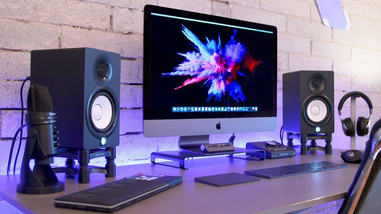 Epic iMac Pro Production Setup Tour  YouTube