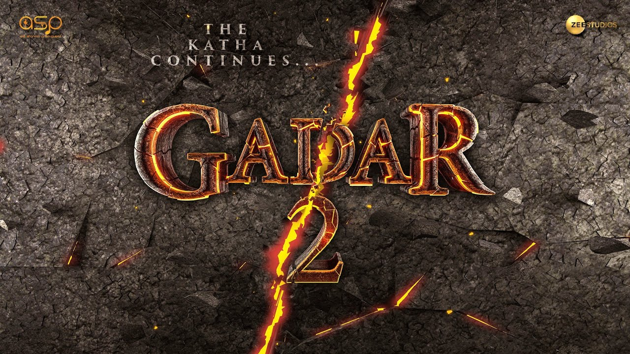 Gadar 2 | Motion Poster | Sunny Deol | Ameesha Patel | Utkarsh Sharma | Anil Sharma | 2022