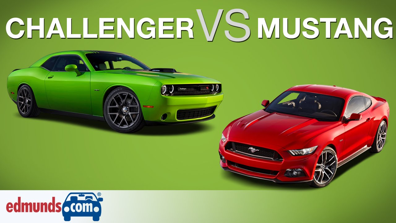 Ford Mustang Gt Vs Dodge Challenger