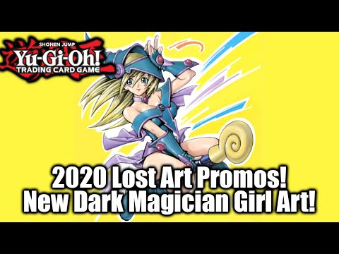 YU-GI-OH! LOST ART PROMOS REVEAL! DARK MAGICIAN GIRL & HARPIES!?!?