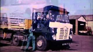 HGV Driving, 1970's - Film 6495