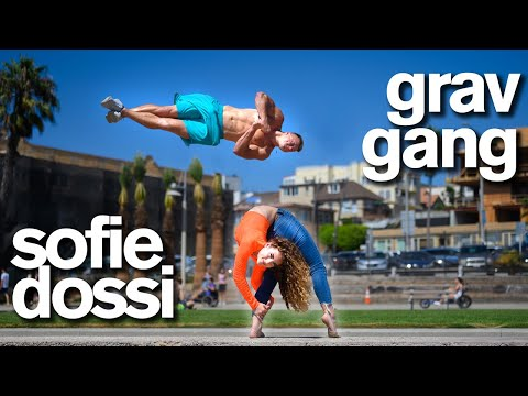 Sofie Dossi vs Insane Gymnasts - Ultimate Contortion and Acro Dares