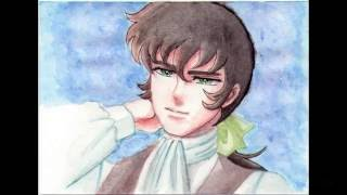 [SpeedPaint Watercolor] Lady Oscar | Andre Grandier