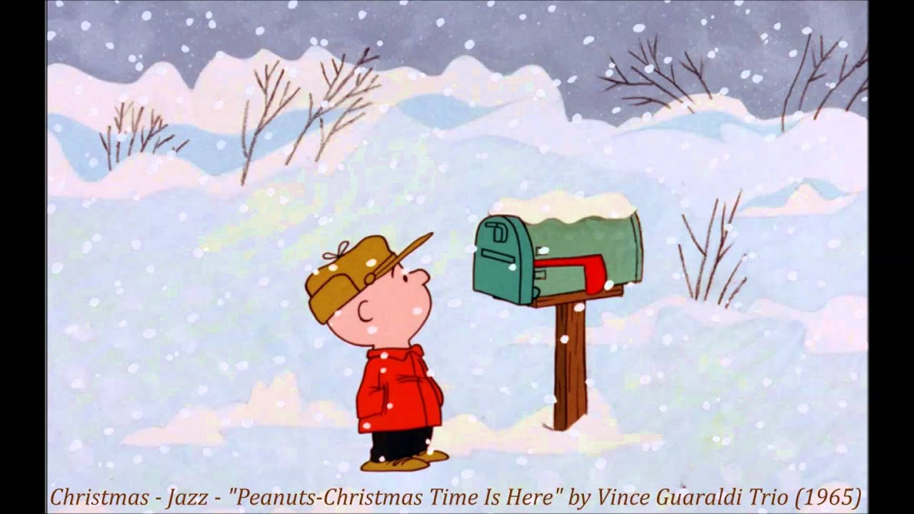 christmas jazz peanuts christmas time is here by vince guaraldi trio 1965 youtube - Peanuts Christmas