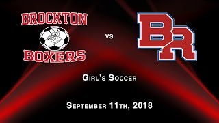 Brockton vs BR, Girls Soccer Sept. 2018